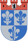 100px-Coat of arms de-be wilmersdorf 1955